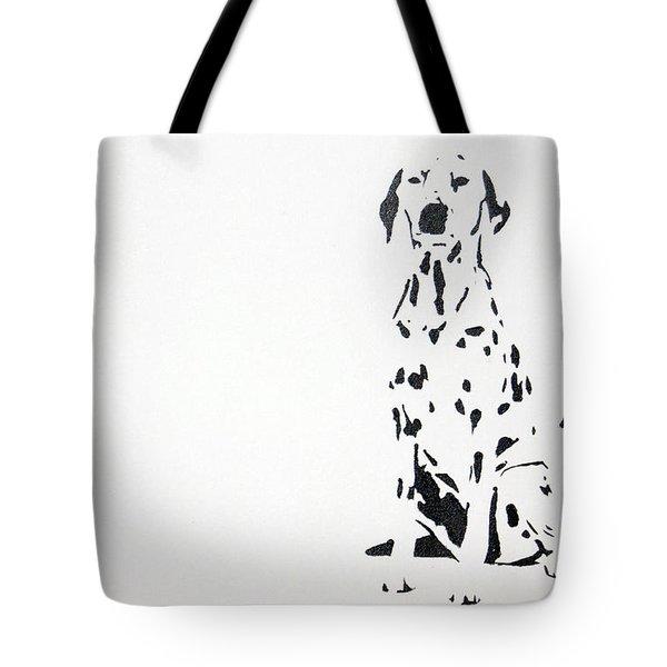 Dalmatian Tote Bag by Michael Ringwalt