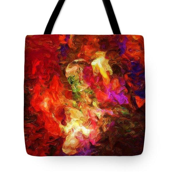 Damnation Tote Bag by David Lane
