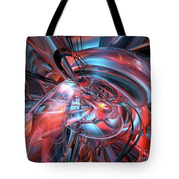 Dance Of The Glassmen Fx Tote Bag by G Adam Orosco