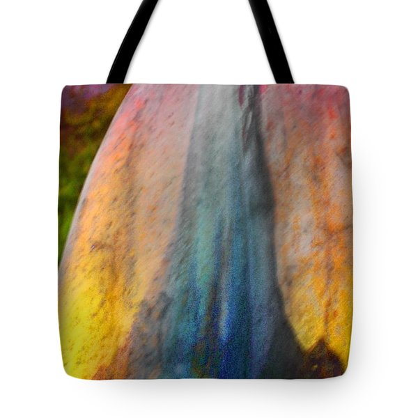Tote Bag featuring the digital art Dance Through The Light by Richard Laeton
