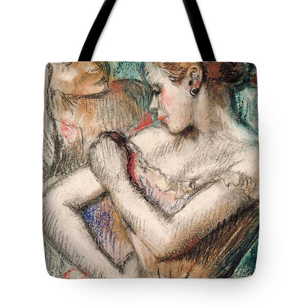 Dancer Tote Bag by Edgar Degas