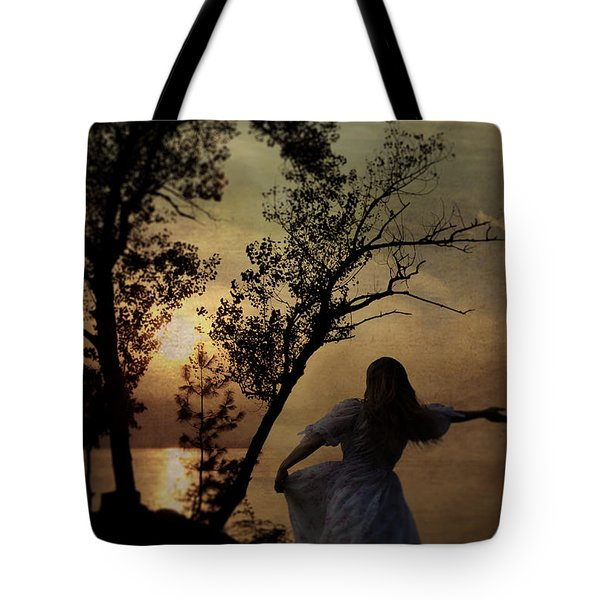 Dancing Girl Tote Bag by Joana Kruse