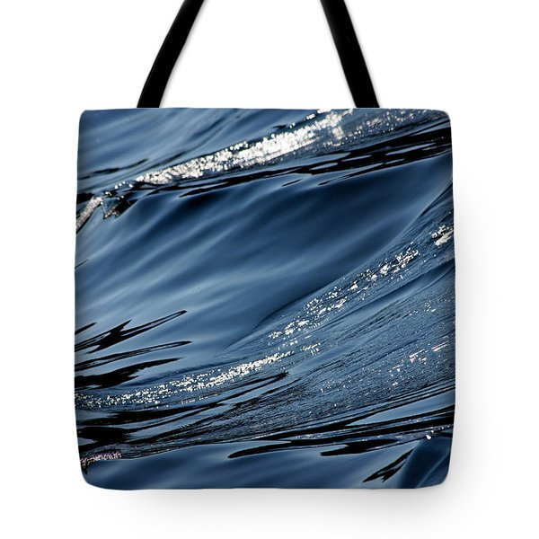 Dancing Waves Tote Bag by Marie Jamieson