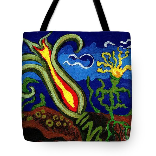 Dandelion Tote Bag by Genevieve Esson