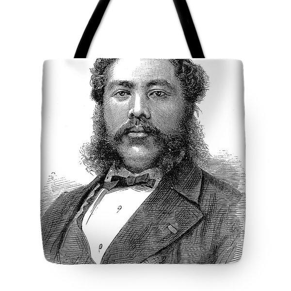 David Kalakaua (1836-1891) Tote Bag by Granger
