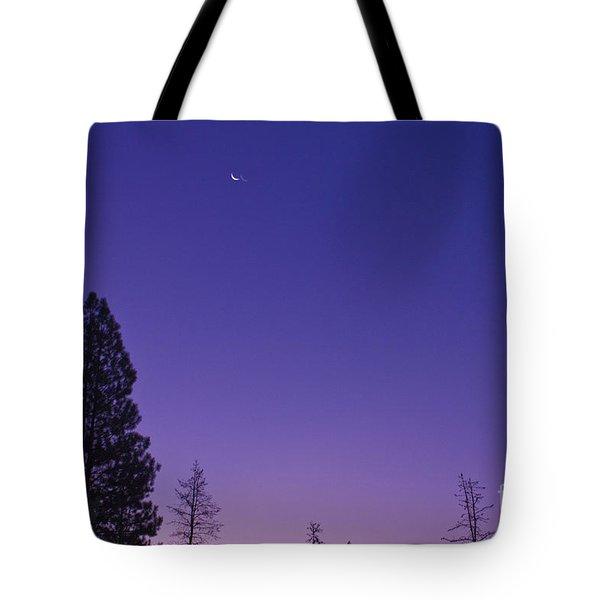 Dawn From My Window Tote Bag by Janie Johnson