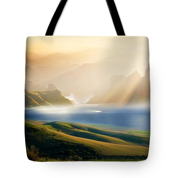 Day 3 Tote Bag by Lourry Legarde