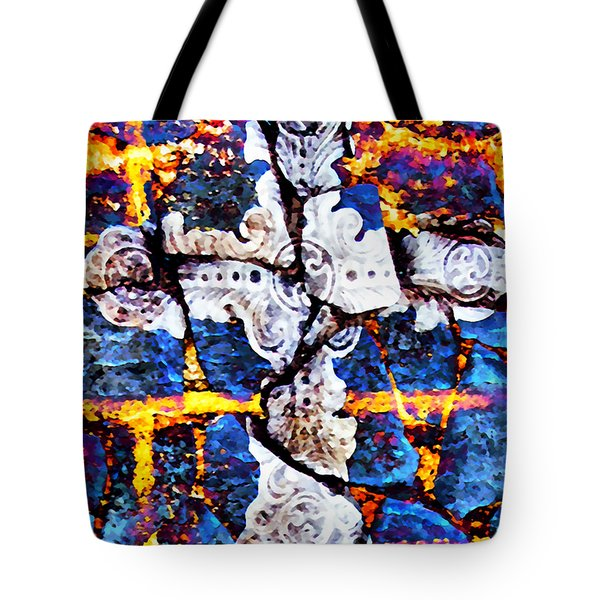 Death Could Not Hold You Tote Bag by Angelina Vick