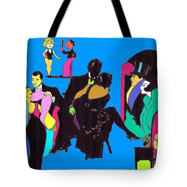 Deco Ads Color Tote Bag by Mel Thompson