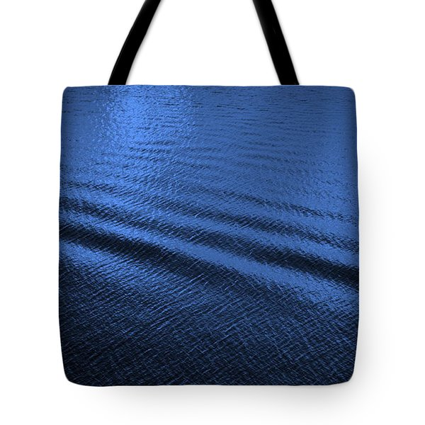 Deep Blue Sea Tote Bag by Carol Groenen