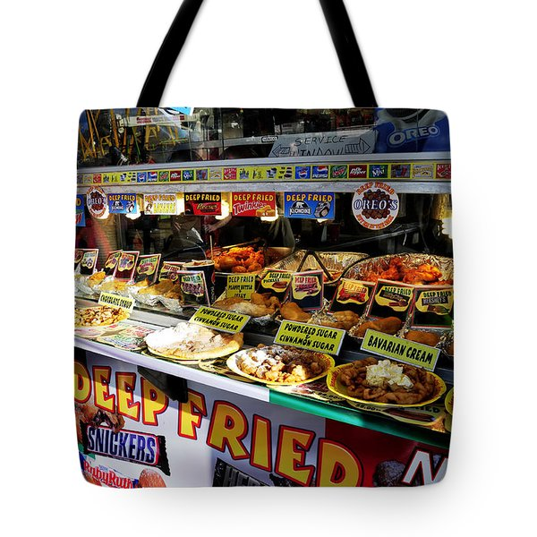 Deep Fried Tote Bag by David Lee Thompson