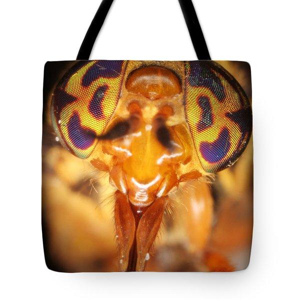 Deerfly Tote Bag by Ted Kinsman