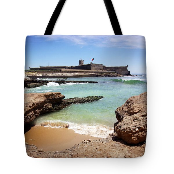 Defense Fort Tote Bag by Carlos Caetano