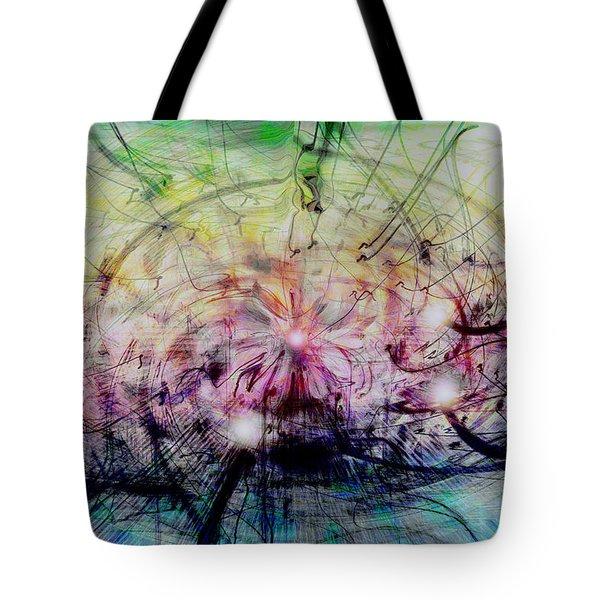 Deform To Form A Star Tote Bag by Linda Sannuti