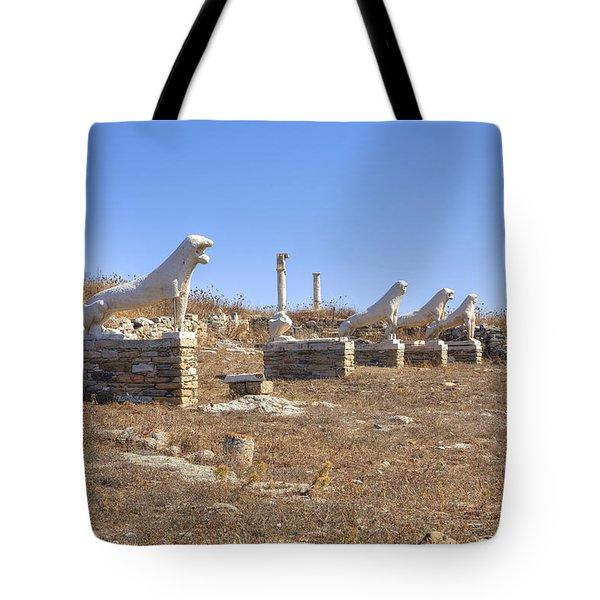 Delos Tote Bag by Joana Kruse