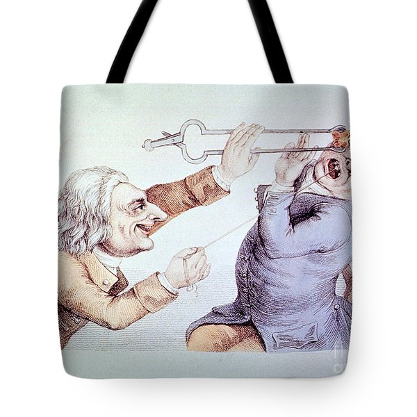 Dentistry Tooth Extraction 1810 Tote Bag by Science Source