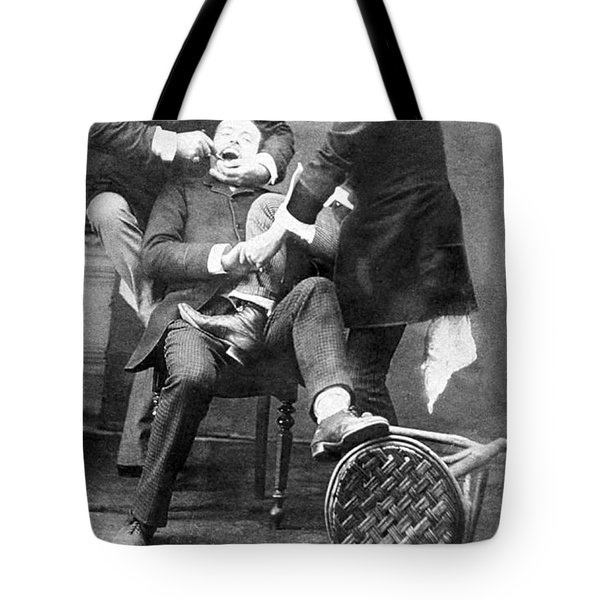Dentistry Tooth Extraction 1892 Tote Bag by Science Source