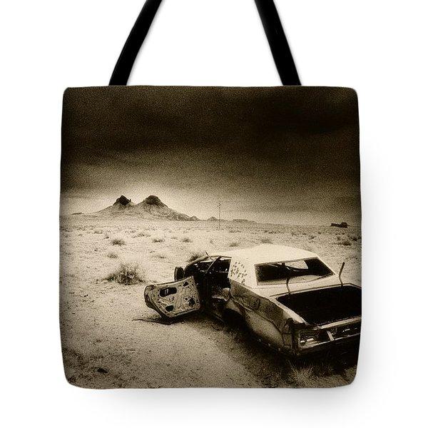 Desert Arizona Usa Tote Bag by Simon Marsden