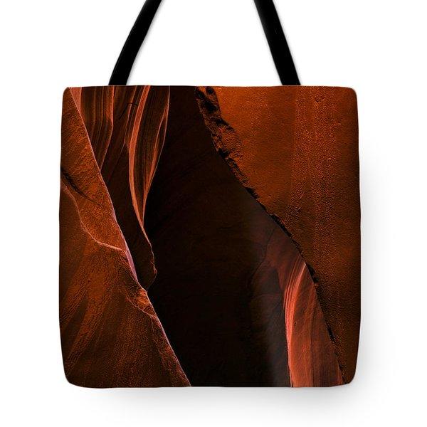 Desert Beam Tote Bag by Mike  Dawson