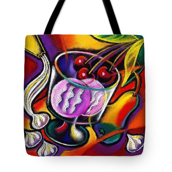 Dessert Tote Bag by Leon Zernitsky