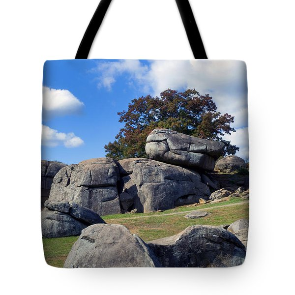 Devil's Den Formation 25 Tote Bag by Paul W Faust -  Impressions of Light