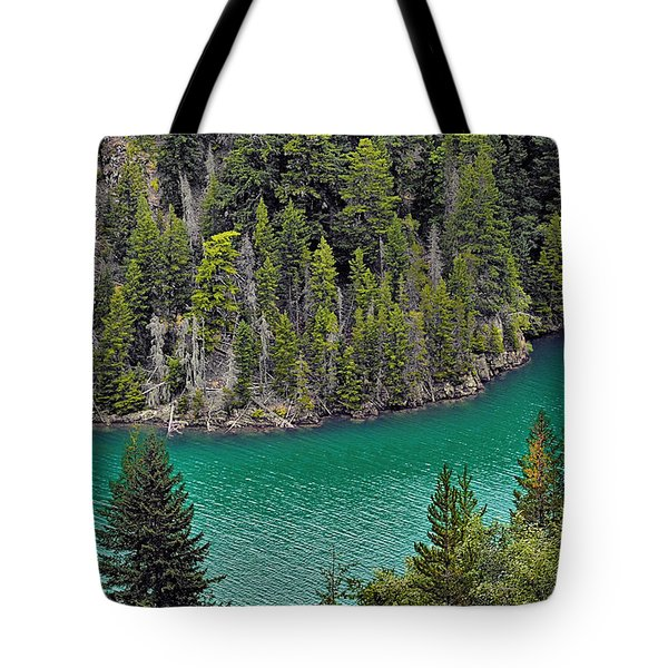 Diabolo Lake North Cascades NP WA Tote Bag by Christine Till