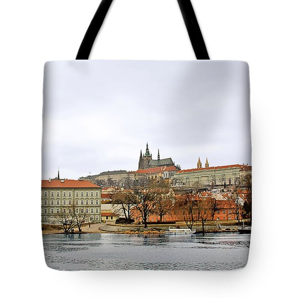 Die Moldau - Prague Tote Bag by Christine Till