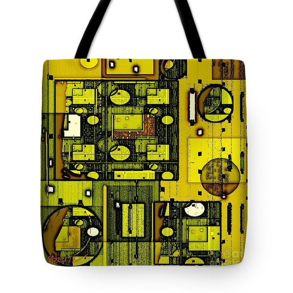 Digital Design 381 Tote Bag by Nedunseralathan R