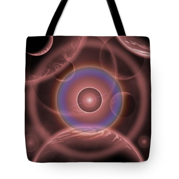 Dimensional Doorway Of The Universe Tote Bag by Mark Stevenson