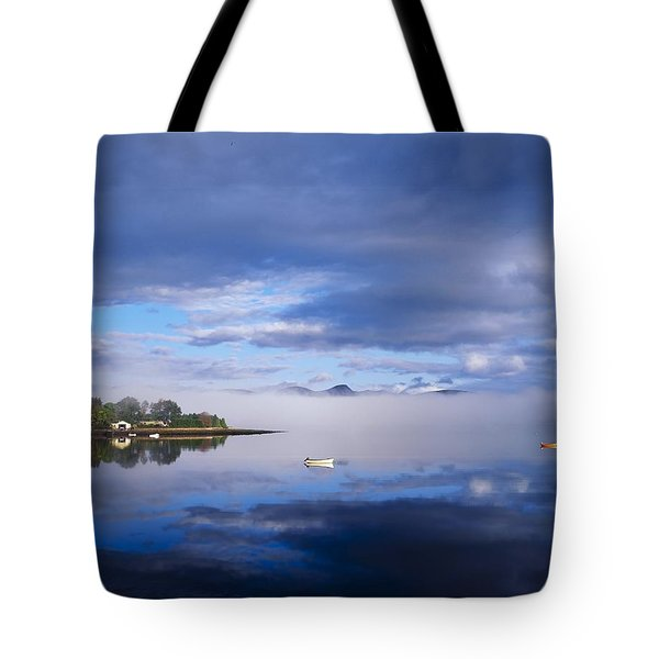 Dinish Island, Kenmare Bay, County Tote Bag by The Irish Image Collection
