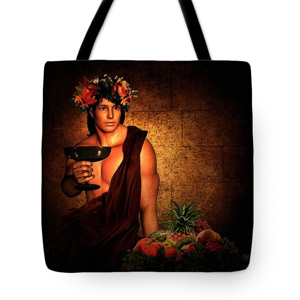 Dionysus Tote Bag by Lourry Legarde