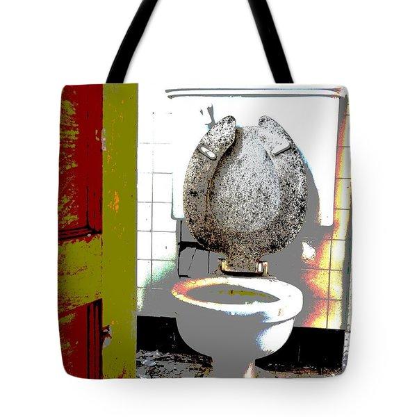 Dirty Seat Tote Bag by Luke Moore