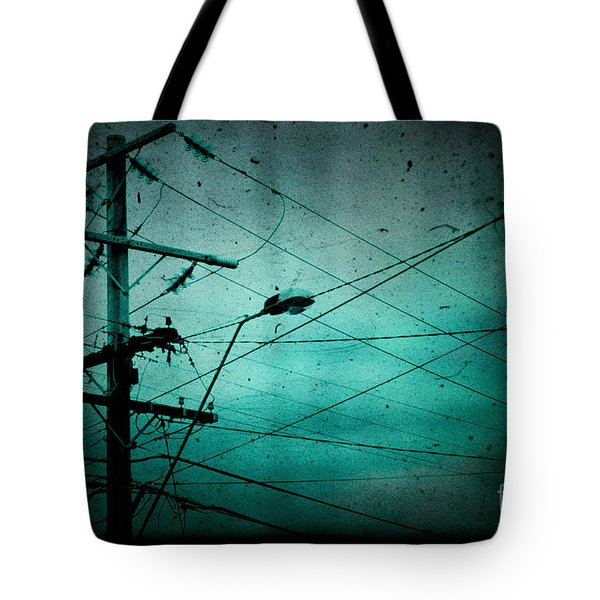 Disconnection Tote Bag by Andrew Paranavitana