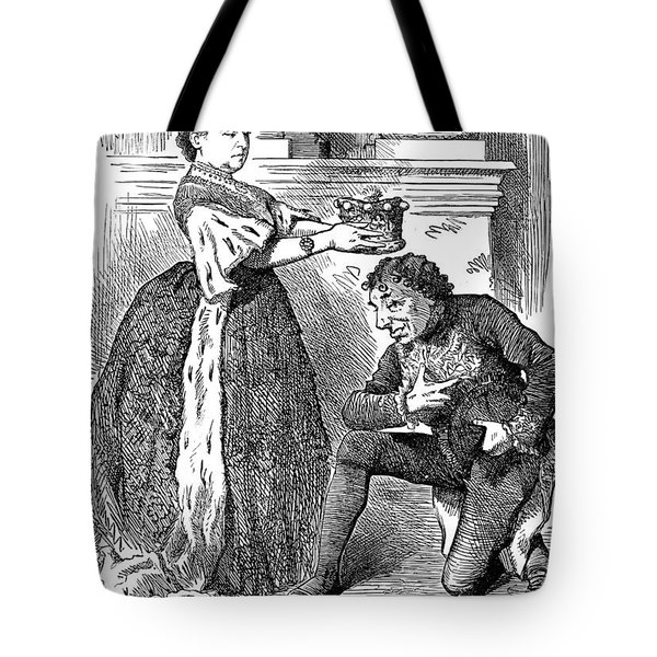 Disraeli Cartoon, 1876 Tote Bag by Granger