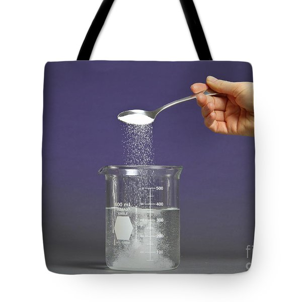 Dissolution Test Tote Bag by Photo Researchers, Inc.