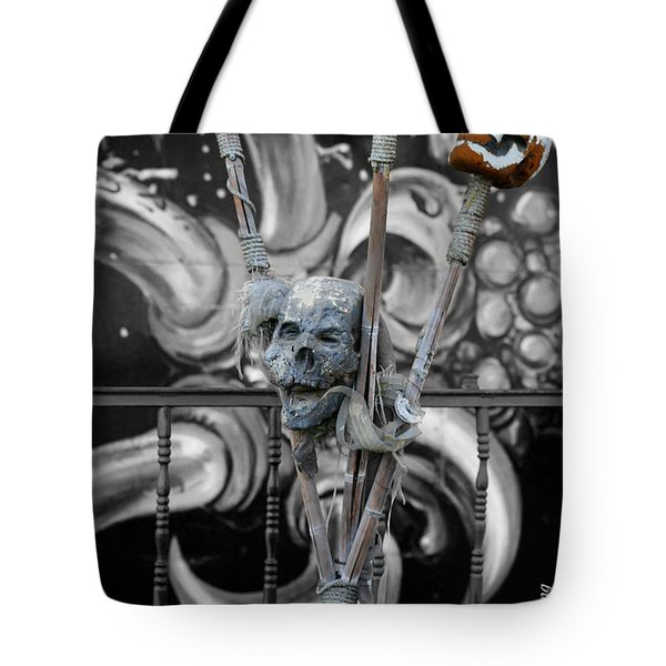 Disturbing Tote Bag by Cheryl Young