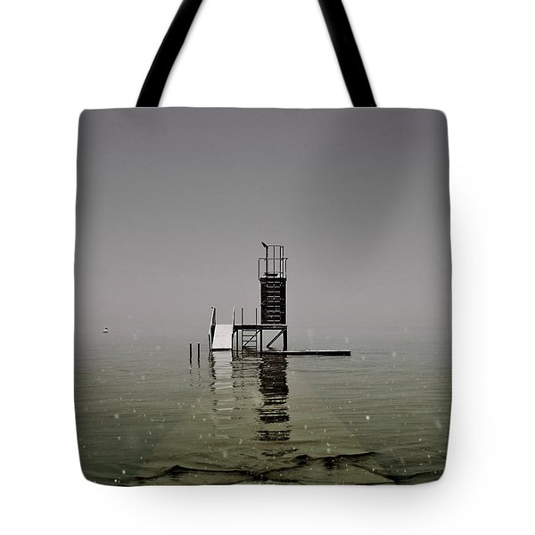 Diving Platform Tote Bag by Joana Kruse