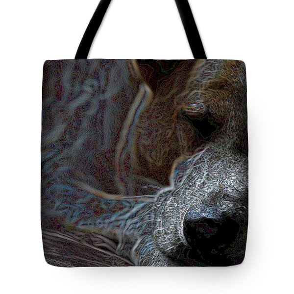Do Not Disturb Tote Bag by One Rude Dawg Orcutt