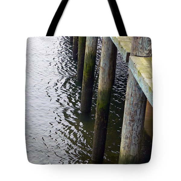 Dock Of The Bay  Tote Bag by Pamela Patch