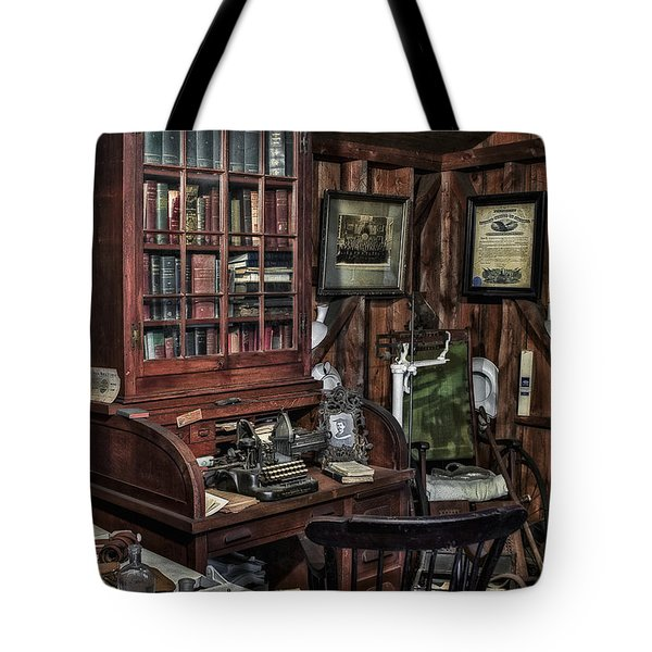 Doctor's Office Tote Bag by Susan Candelario