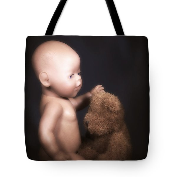 Doll And Bear Tote Bag by Joana Kruse
