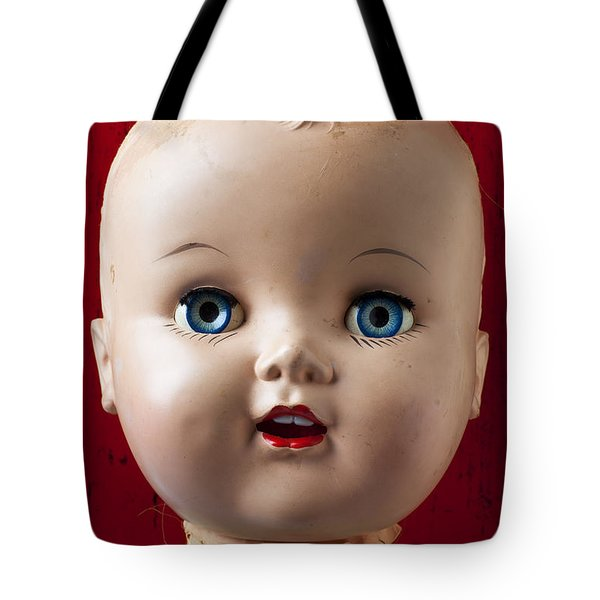 Dolls Haed Tote Bag by Garry Gay