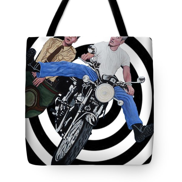Don't Blink Tote Bag by Tom Roderick