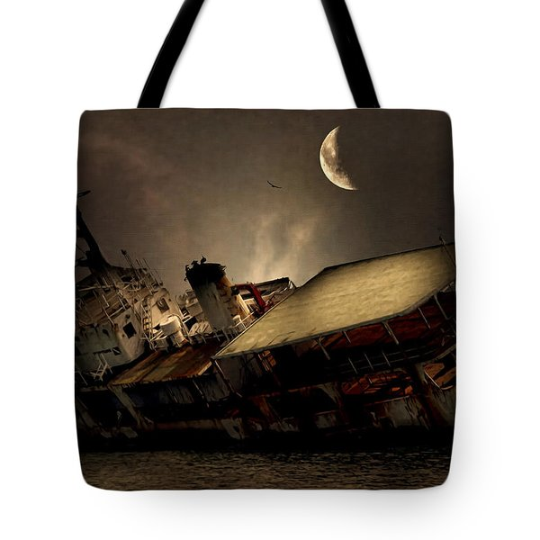 Doomed To Gloom Tote Bag by Lourry Legarde