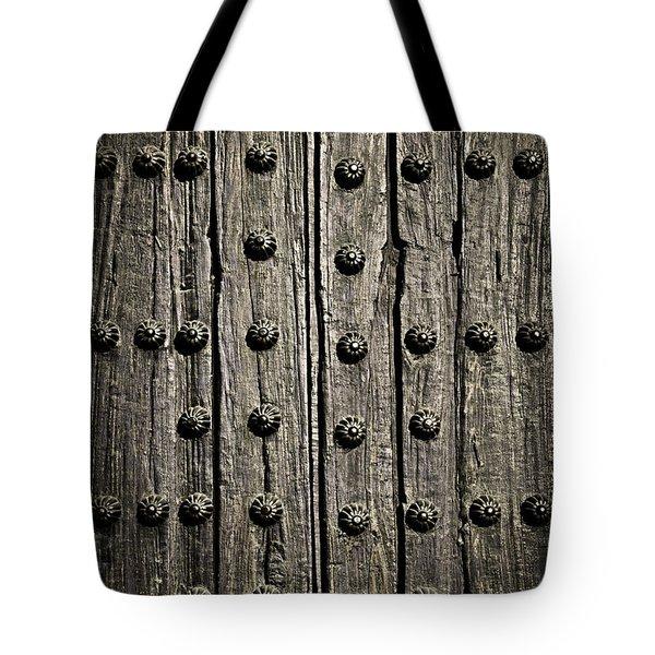 Door Detail Tote Bag by Elena Elisseeva