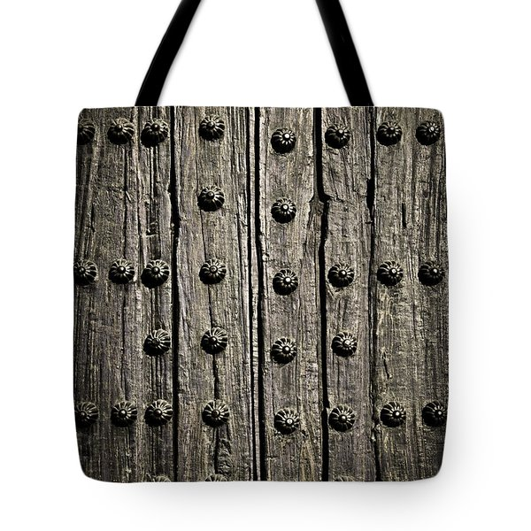 Door detail Tote Bag by Elena Elisseeva