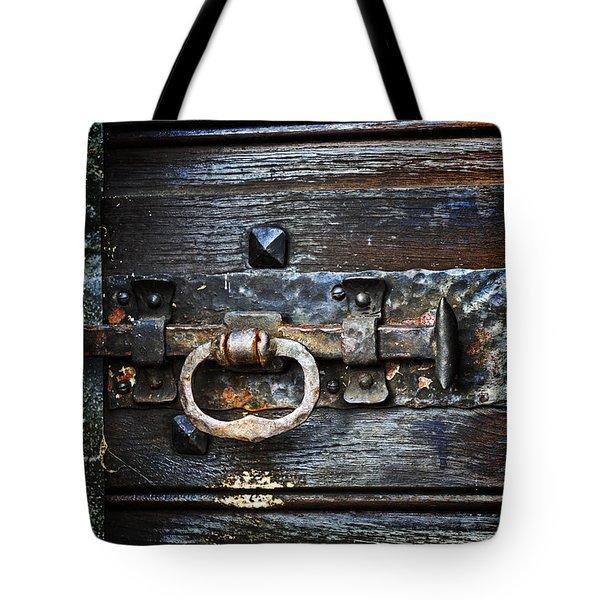 door latch Tote Bag by Joana Kruse