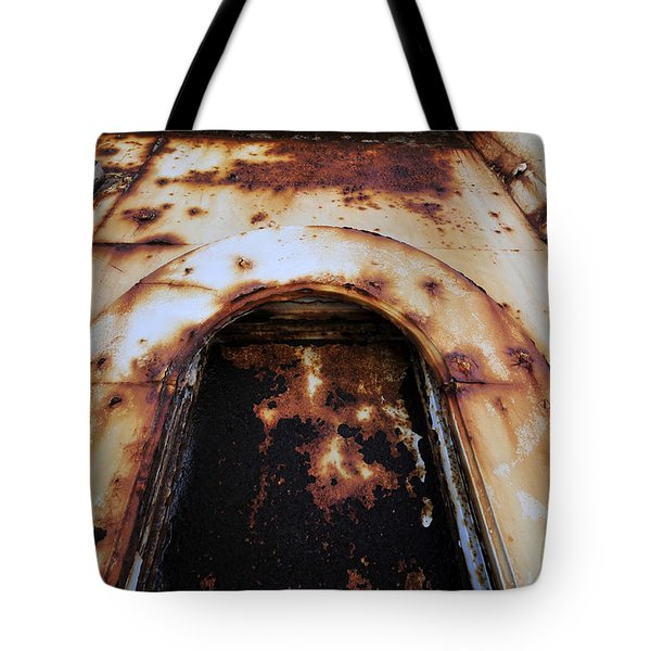 Door Of Rust Tote Bag by David Lee Thompson