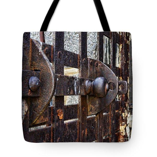 Door to Death Row Tote Bag by Paul Ward