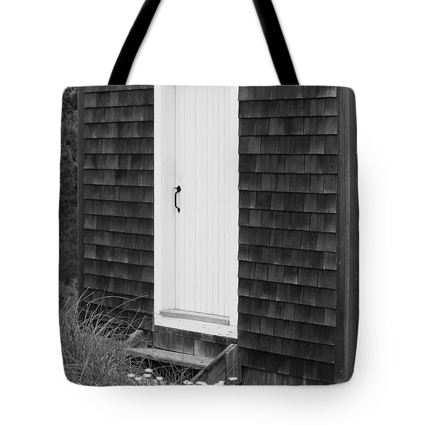 Doorway by the Sea Cape Cod National Seashore Tote Bag by Michelle Wiarda